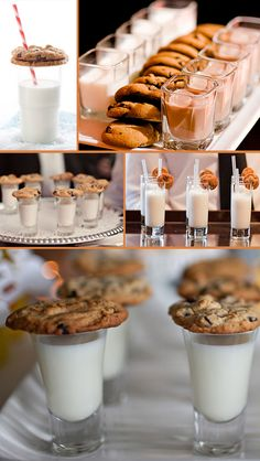 Milk and Cookies instead of cake