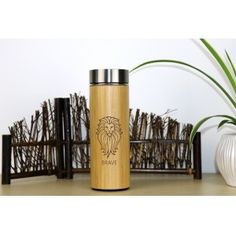 Bamboo Stainless Steel Thermos #ecofriendly #bamboo Stainless Steel Thermos, Eco Friendly, Bamboo, Products, Decor, Decoration, Decorating, Dekorasyon, Dekoration