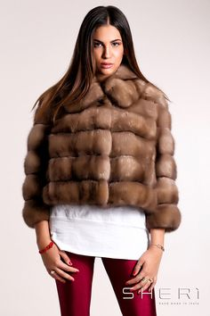 cappotto nero cashmere zibellino nicole