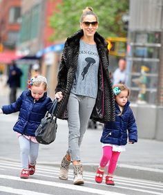 SJP and the babies :D