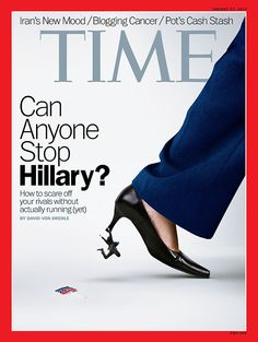 "Hillary Clinton on Time Magazine: ""Can Anyone Stop Hillary?"" #hillaryforpresident #hillary2016 #hillaryclinton #hillaryclinton2016 #hillaryclintonforpresident"