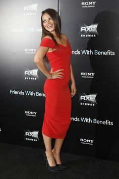 Mila Kunis at the NYC premiere of Friends with Benefits
