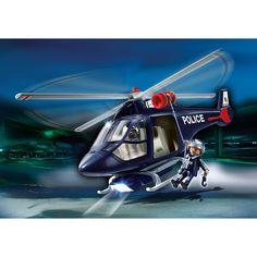 Playmobil City Action Helikopter policyjny, 5183, klocki