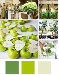 apples as place cards to adorn the centerpiece
