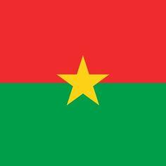 Burkina - Faso Flag Sticker