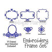Embroidery Frame Set