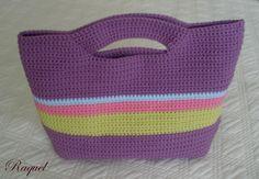 crochet bag  Paso a paso del bolso de ganchillo