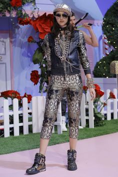 Philipp Plein Spring 2017 Ready-to-Wear Fashion Show - Mariana Beltrame
