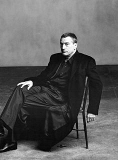 Robert De Niro photographed by Annie Leibovitz, 2000