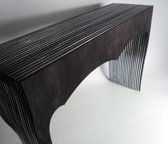 RIGATINO - Console - Wood and polymethylmethacrylate