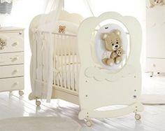 Детская кроватка Baby Expert Abbracci by Trudi (Беби Эксперт Аббрачи бай Труди)