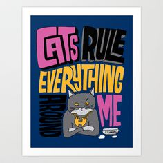 C.R.E.A.M. Cats Rule Everything Around Me