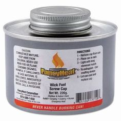 FancyHeat Chafing Fuel Can Twist Cap Wick 4 Hour Burn 8 oz * Visit the image link more details.