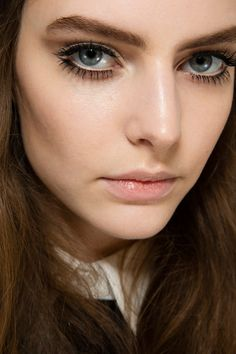 Runway and Beauty | Auguste Abeliunaite - Beauty at Gucci Fall/Winter...