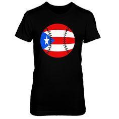Puerto Rico Baseball Shirt PR