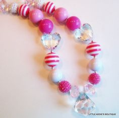 Kid's chunky bubblegum style necklace