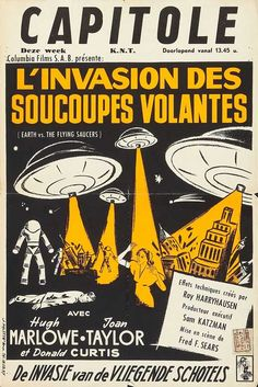 earth vs the flying saucers - 1956 (belgian version)