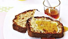 Slice and freeze the bread, then simply toast when needed and serve hot with butter and jam or honey. One loaf provides two servings of your 5-a-Day.