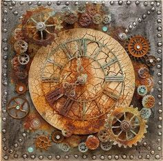 1 million+ Stunning Free Images to Use Anywhere Mixed Media Boxes, Mixed Media Canvas, Mixed Media Collage, Louise Nevelson, Altered Books, Altered Art, Mix Media, Steampunk Kunst, Steampunk Crafts