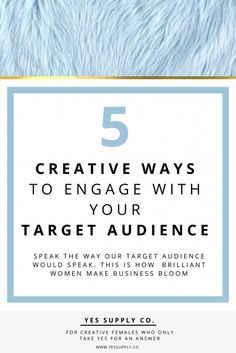 In this post will helps Entrepreneurs, female business owners, girlboss, bossbabe to increase engagement with your target audience, to create more value for you and your readers and viewers. Engaging with your target audience creatively can raise awareness of your brand, create customer loyalty, and grow your business significantly.