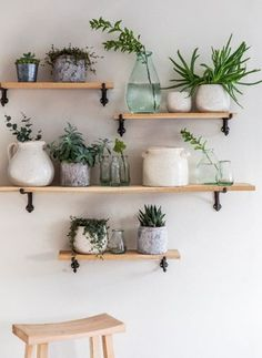 Box Shelves – Best Home Plants Cheap Home Decor, Diy Home Decor, Diy Bedroom Decor, Living Room Decor, Wall Shelf Decor, Kitchen Shelf Decor, Plant Wall Decor, Kitchen Wall Shelves, Book Wall Shelf