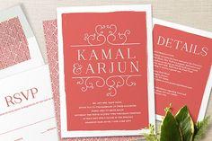 #Indian #Wedding #Invite