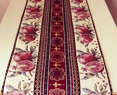 Table runner Cloth Carpet kilim Red white Christmas table cloth Pomegranates Armenian gifts New Year cozy red decor Christmas eve runners Christmas Runner, Christmas Table Cloth, White Christmas, Armenian Christmas, Small Gifts, Table Runners, Red Roses, Red And White, Bohemian Rug