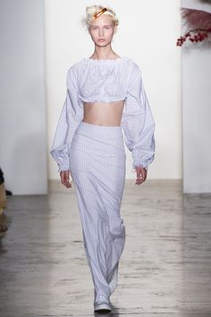 Runway #fashion: Adam Selman's Spring17 collection hit the trend pulse just right.