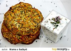 Zeleninové placky s chia semínky recept - TopRecepty.cz Apple Table, Healthy Recipes, Healthy Food, Cabbage, Food And Drink, Vegetables, Cooking, Fitness, Top