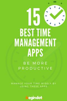 Best Time Management Apps, Productive Things To Do, Best Web Design, Make Time, Productivity, How To Plan, Tools, Free, Instruments