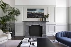 This beautiful Dublin interior was styled by Kingston Lafferty Design and photographed by Barbara Corsica photography. Residential Interior Design, Interior Architecture, Fold Out Beds, Victorian Townhouse, Kingston, Dublin, Wall Design, Living Spaces, Living Rooms