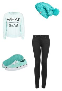 Untitled #5 by ines-brito-1 on Polyvore featuring polyvore, Mode, style, Noisy May, Topshop, Vans, The North Face, fashion and clothing