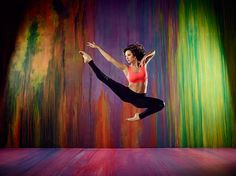 Makenzie Dustman shows off her dance moves!