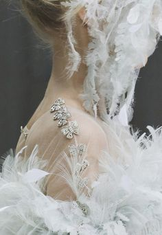 Chanel Haute Couture Spring 2013 Details