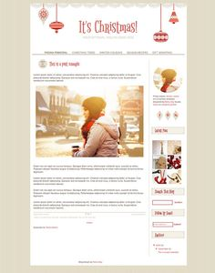 Cute blog design. Responsive Blogger Template. | Color: Combos of ...