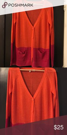 Anthropologie-Moth color block cardigan VGUC. Perfect for spring and summer. Anthropologie Sweaters Cardigans