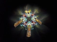 "The Inside image of Kaleidoscope ""The Golden Calf""."