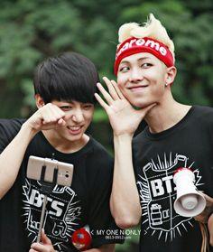 BTS   JUNG KOOK and RAP MON