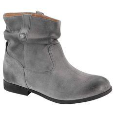 3265f33bfe1665 Birkenstock Women s Sarnia Boot Grey Waxed Suede Size 39 M EU