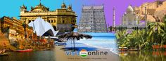 Take a With Visit India Online along this India..