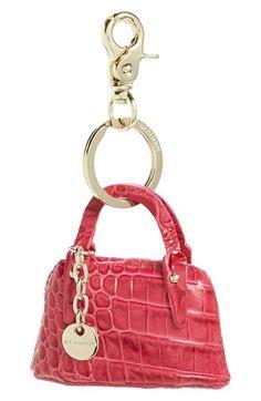 Brahmin 'Handbag' Leather Bag Charm