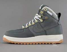 Nike Air Force 1 Duckboot - Anthracite/Gum