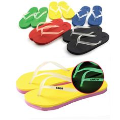 Beach Flip-flops, Beach Slippers made of EVA material. It's a hot product for a beach promotion. Logo can be printed as per your request. Lightweight and comfortable, you worth it.