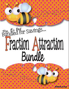 math worksheet : 1000 images about fractions on pinterest  fractions least  : Fraction Attraction Worksheet