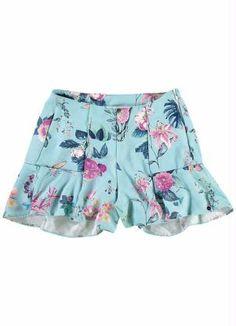 short-saia-floral-azul-malwee-
