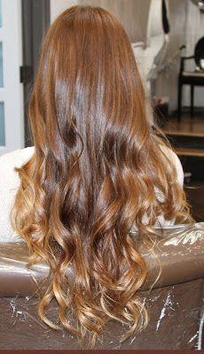 Box No. 216: apricot hair color