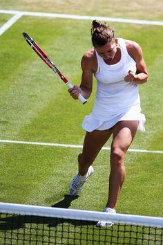 Simona Halep in Wimbledon 2014 #WTA #Halep #Wimbledon