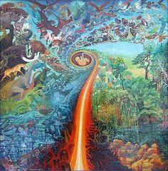 מיקס יצירות ואיורי טבע, פסיכדליה וסוראליזם | myHerb