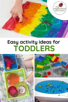 Easy Toddler Activity Ideas for Early Years Educators