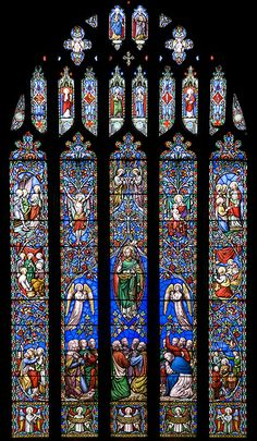 Kinver Church stained glass window by Dazzie D, via Flickr